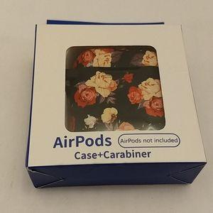 Air pods case + carabiner